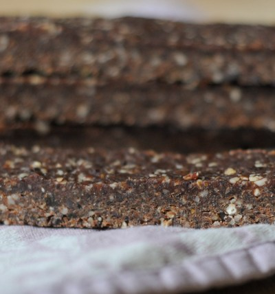 Homemade Chocolate Hazelnut Larabars