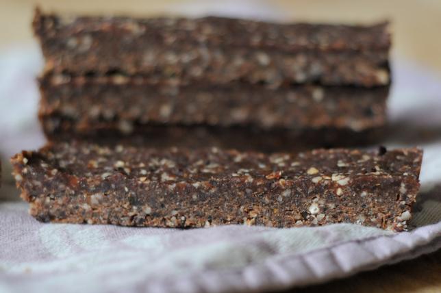 Homemade Chocolate Hazelnut Larabars