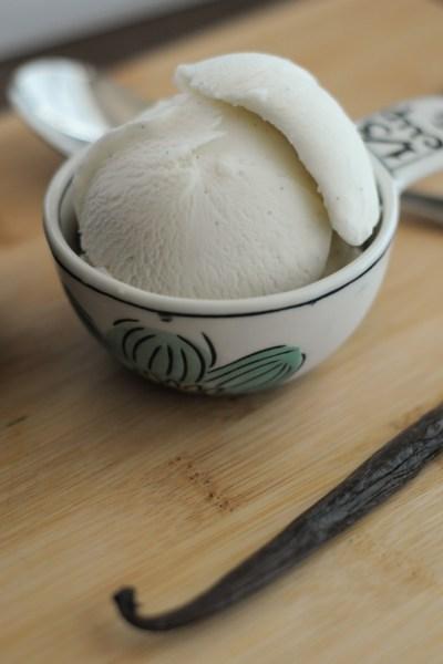 Ultra Creamy Coconut Vanilla Bean Ice Cream    @heathersdish