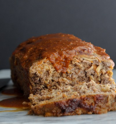 Sweet and Smokey Paleo Meatloaf @heathersdish #whole30 #paleo