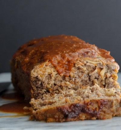 Sweet and Smokey Paleo Meatloaf @heathersdish #whole30 #paleo