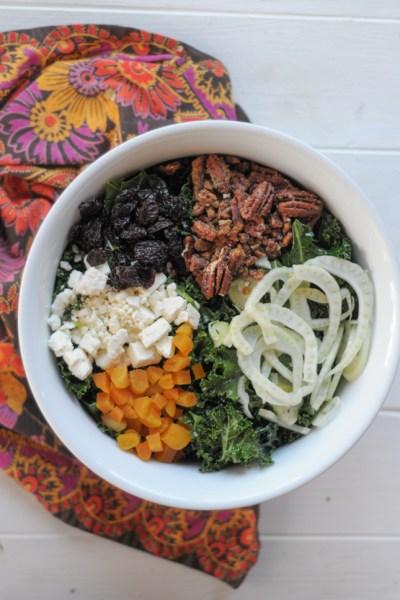 The Best Kale Salad Ever @heathersdish