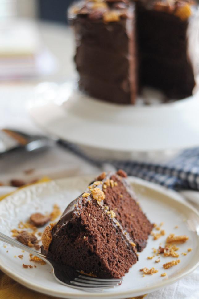 Wicked Mix Chocolate Cake