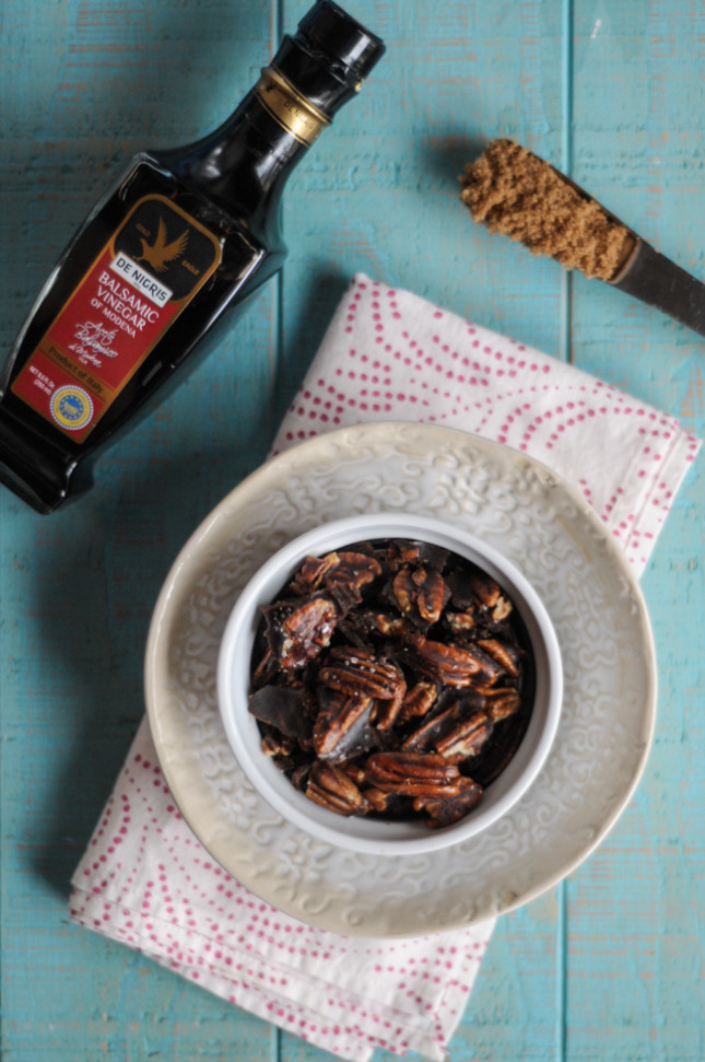 Balsamic Glazed Pecans by @heathersdish for @denigris1889
