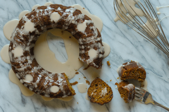 Mini Pumpkin Bundt Cake from @dessertfortwo and a lesson on worth from @heathersdish