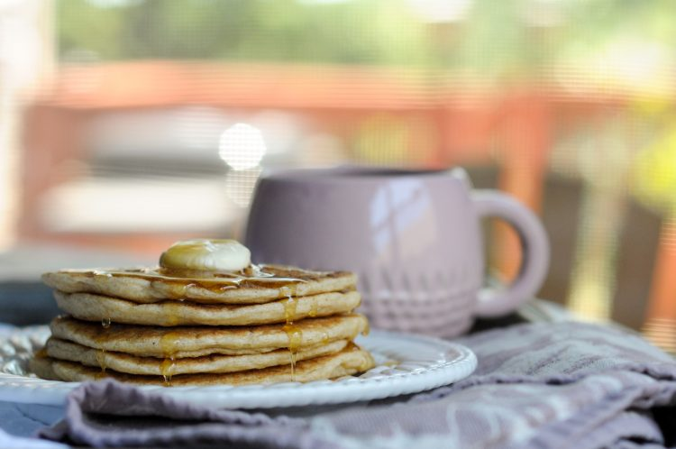 Perfect Gluten Free Brown Rice Pancakes make eating gluten free easy and completely delicious. These pancakes are worth the bit of extra effort! @heathersdish