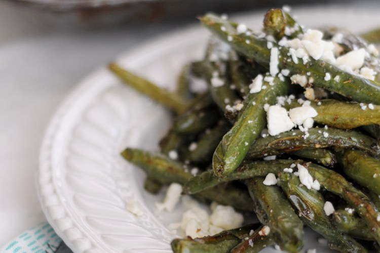 "Roasted Mediterranean Green Bean ""Fries"""