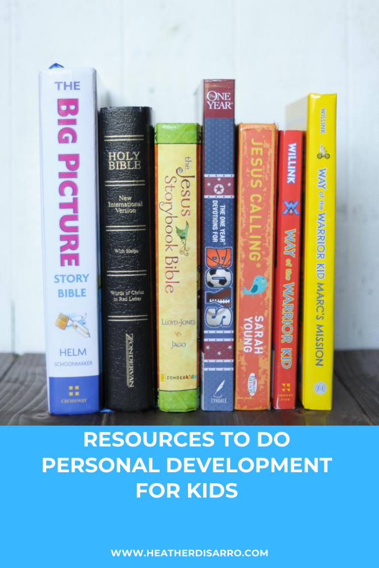 How We Do Personal Development for Kids shares an in-depth look at some of my favorite resources that have worked in creating stronger kids, inside and out.