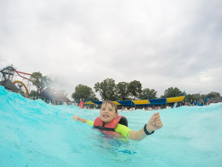 A last hurrah summer fun activity isn't far away if you're in the Central Arkansas area - look no further than Wild River Country for a fun end to summer! #sponsored #wildriversummer #wildrivercountry @heathersdish