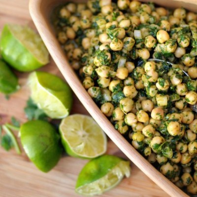 Recipe Repost: Cilantro Lime Chickpea Salad
