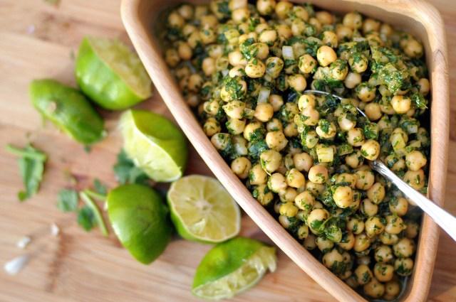 Recipe Repost: Cilantro Lime Chickpea Salad