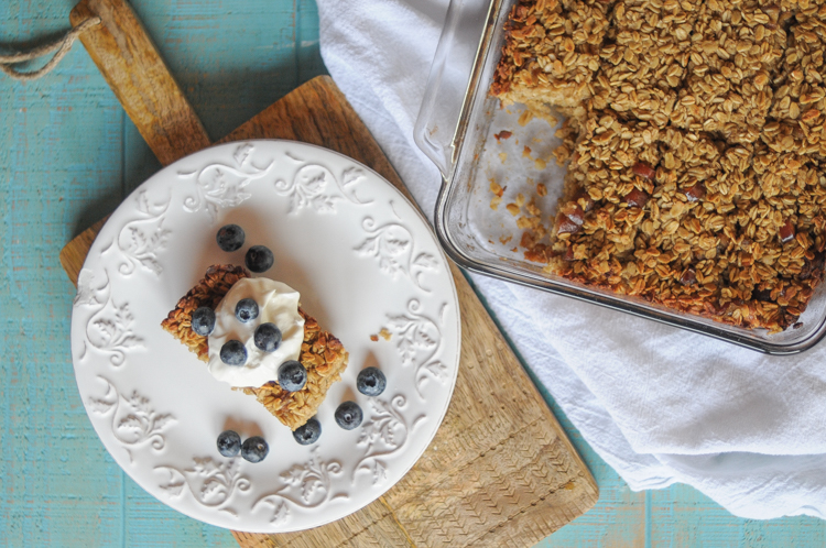 My Perfect Baked Oatmeal Recipe is the best for those who just want simple baked goodness you can eat any day of the week! @heathersdish