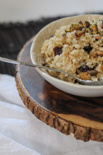 Maple Dijon Sprouted Brown Rice
