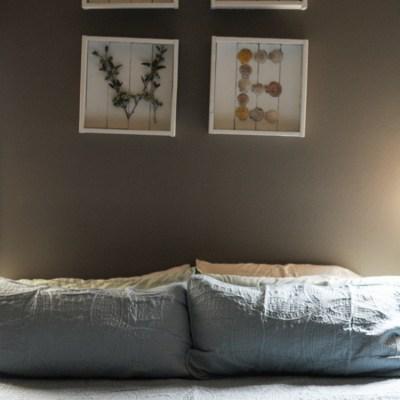 $40 Master Bedroom Refresh