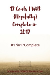 #17in17Complete