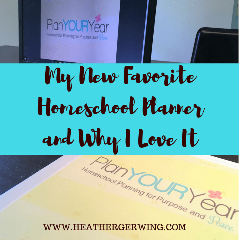 My New Favorite Homeschool Planner and Why I Love It