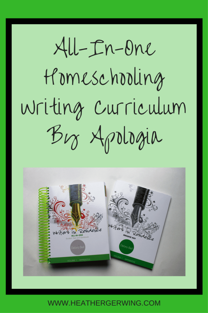 All In One Homeschool Writing Curriculum by Apologia!