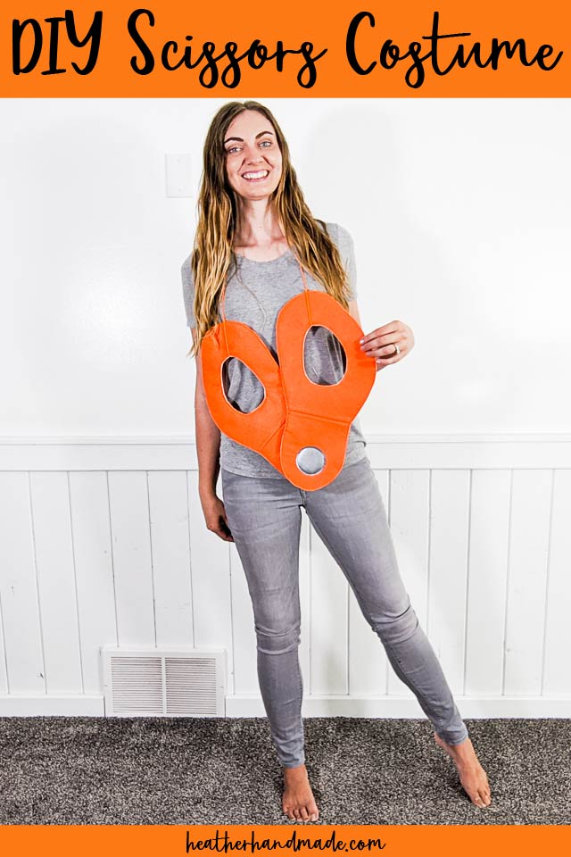 Dress Up as a Pair of Scissors with this DIY Costume