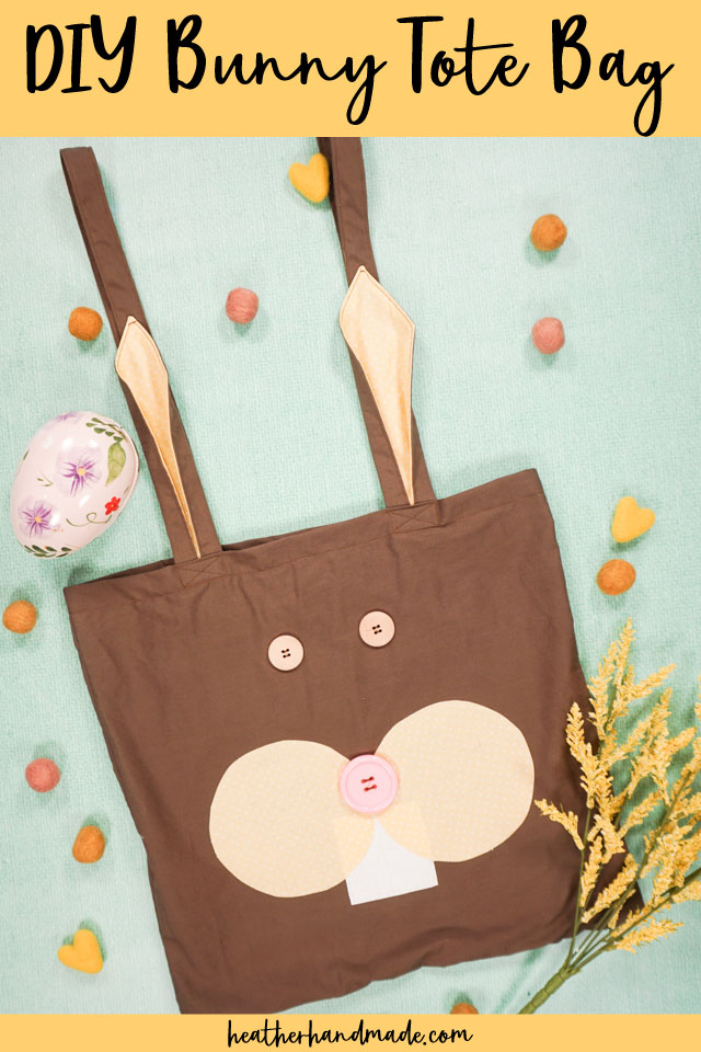 Bunny Tote Bag - Free Sewing Pattern