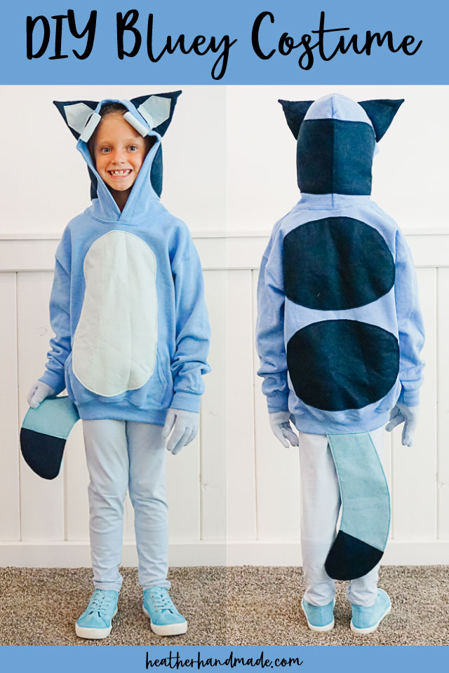Bluey Costume for Kids - DIY Sewing Tutorial
