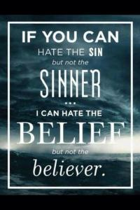 Hate the Belief