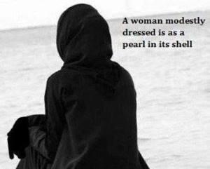 Modest woman