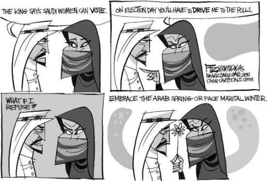 Ssaudi Suffrage