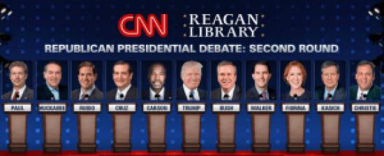 2nd GOP Debate Main Event