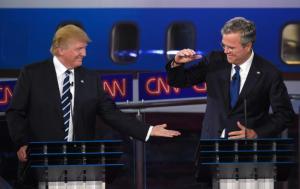 2nd GOP Debate Trump Bush