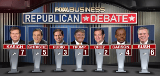 Jan 2016 FBN Debate 2
