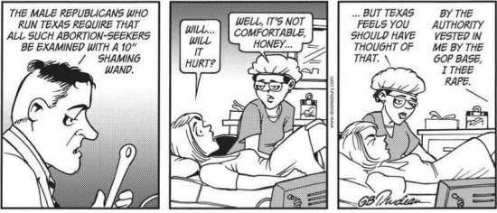 Texas trans vaginal probe