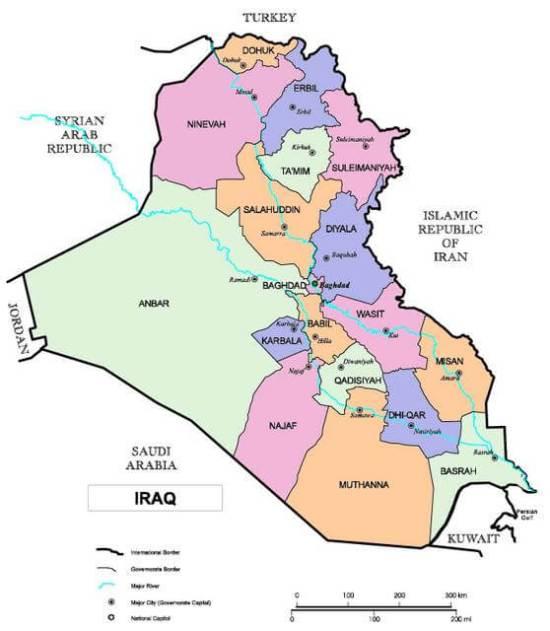 iraq-provinces