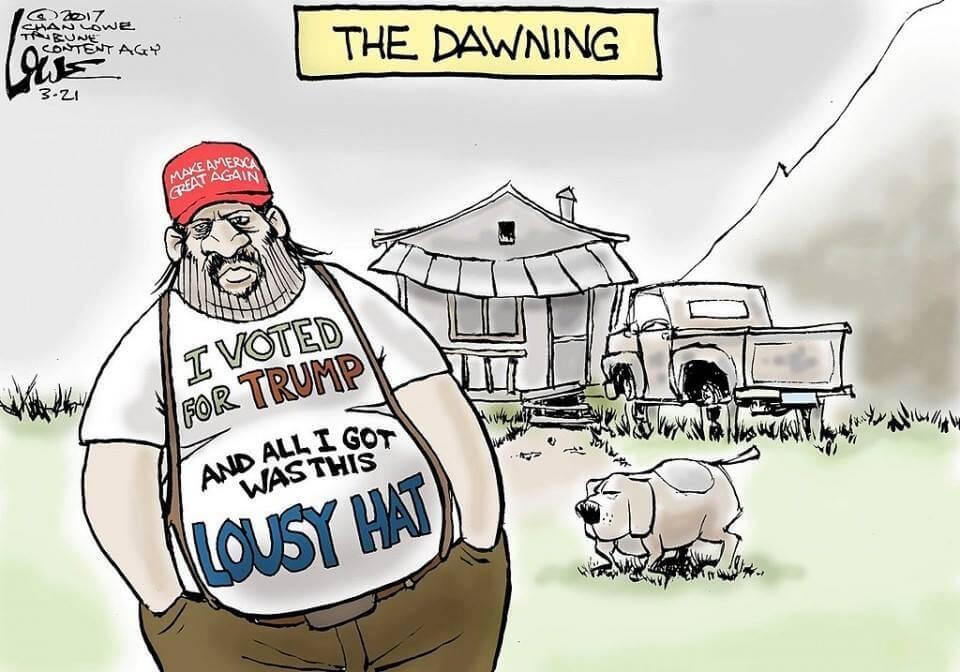 US Farmers Support Trump as He Screws Them (plus Tweets)