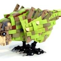 Kakapo Lego (plus Tweets)