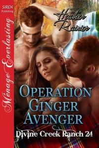 Operation Ginger Avenger by Heather Rainier