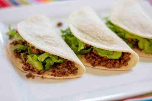lentil-walnut tacos