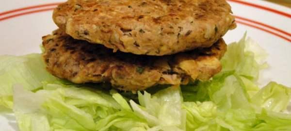 Basil Tuna Cakes