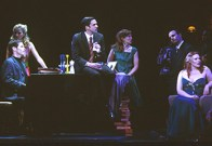 Scene from Merrily We Roll Along at the Kennedy Center