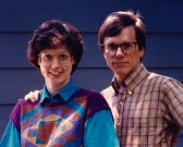 Mona and Michael in Oak Ridge, TN in 1988