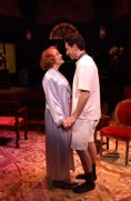 Susie McMonagle and Sean Fortunato in At Wit's End at Northlight Theatre