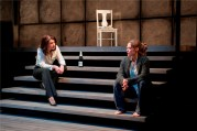 Megan Kohl and Chaon Cross in Proof at Court Theatre