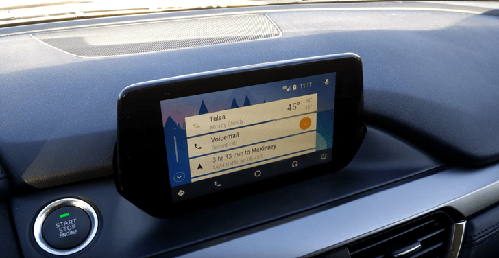 Say What? Android Auto Running On A Newer Mazda Vehicle