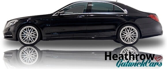 black s class mercedes chauffeur hire london