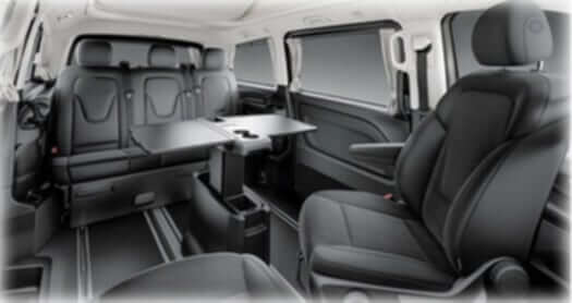 luxury v class executive seats corporate chauffeur services