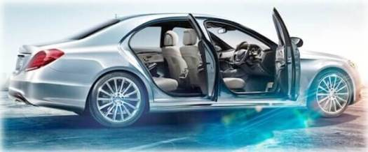 mercedes s class luxury executive car service