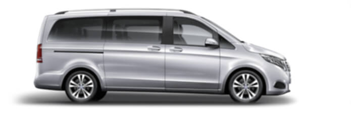 mercedes v class hire london executive car service
