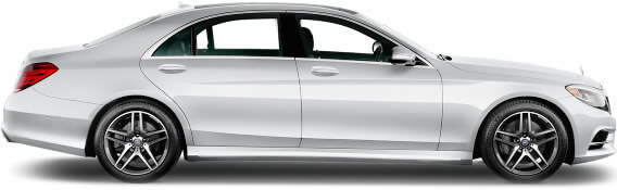 sliver s class mercedes luxury chauffeur driven cars