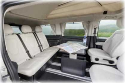 Mercedes V Class Viano - Design Distinctive and Dynamic