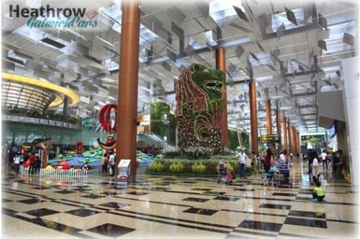 Number 1. Singapore Changi Airport, Singapore best airport in the world 2017