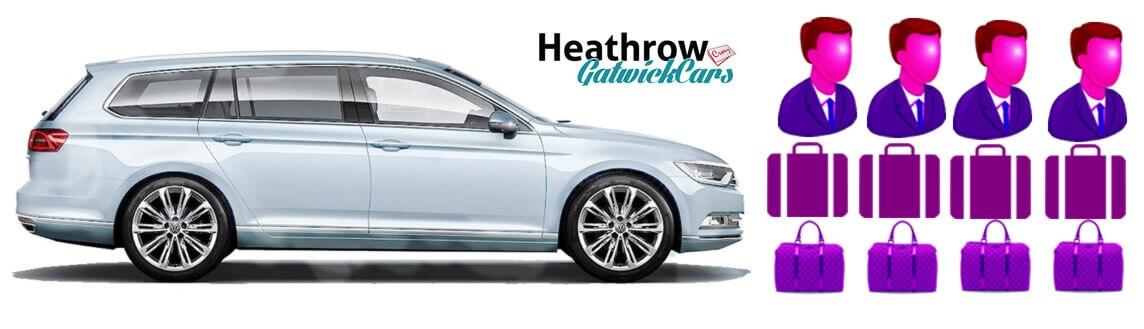 estate car gatwick to heathrow taxi